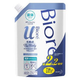 ビオレu ザ ボディ 液体タイプ ピュアリーサボンの香り 詰め替え 750ml 花王
