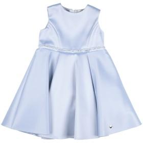 《セール開催中》ARMANI JUNIOR ガールズ 3-8 歳 ワンピース&ドレス スカイブルー 3 ポリエステル 96% / ポリウレタン 4%