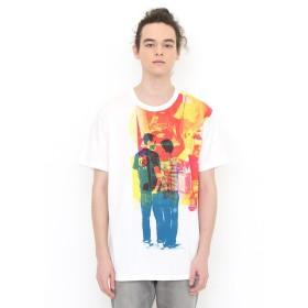 (グラニフ) graniph コラボレーション Tシャツ エイティーズフレンズ (ケイトギブ) (ホワイト) メンズ レディース M (g01) (g14) #▲