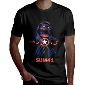 サム・フォーティーワン Sum 41 半袖 Tシャツ メンズ カジュアル 春夏 ティーシャツ スウェット 個性 通勤 通学 運動 日常用 大きいサイズ
