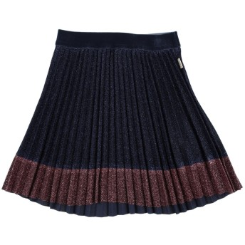 《9/20まで! 限定セール開催中》KARL LAGERFELD ガールズ 3-8 歳 スカート ダークブルー 3 ポリエステル 65% / 金属 35%