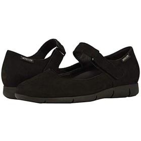 [メフィスト] レディースローファー・スリッポン・靴 Jenyfer Black Bucksoft (27.5cm) B - Medium [並行輸入品]