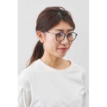 イディット IEDIT 紫外線とブルーライトから瞳を守る 大人好みの眼鏡見えサングラス (ブラック)