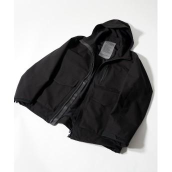 【30%OFF】 アダムエロペ マウンテンパーカー メンズ ブラック(01) M 【ADAM ET ROPE'】 【セール開催中】