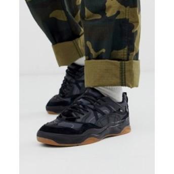バンズ メンズ スニーカー シューズ Vans Varix sneakers in black color block Black