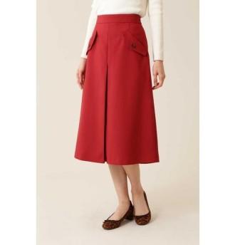 NATURAL BEAUTY BASIC / ナチュラルビューティーベーシック [洗える]フラップポケットAラインスカート