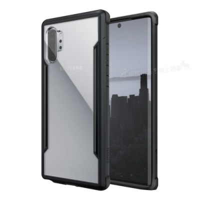 DEFENSE 刀鋒極盾Ⅲ Samsung Note10+ 耐撞擊防摔手機殼(爵帝黑)