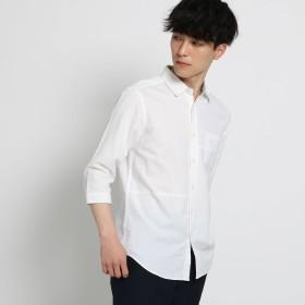 THE SHOP TK(Men)(ザ ショップ ティーケー:メンズ)/切替パナマシャツ