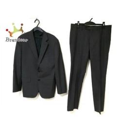 エストネーション ESTNATION シングルスーツ メンズ グレー 肩パッド 新着 20190821
