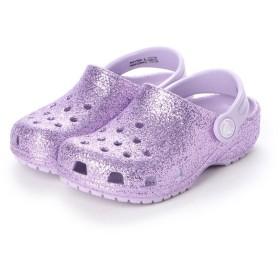 クロックス crocs クロッグサンダル Classic Glitter Clog K Lavender 205441-530 ミフト mift