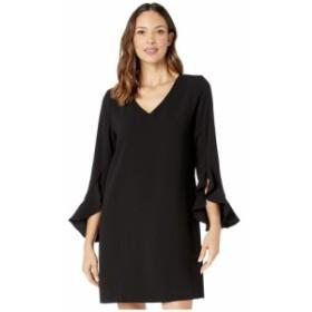 カレンケーン Karen Kane レディース ワンピース ワンピース・ドレス Ruffle Sleeve Dress Black