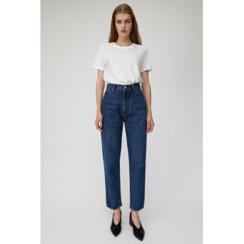 マウジー moussy HW SLIM TAPERED (ブルー)
