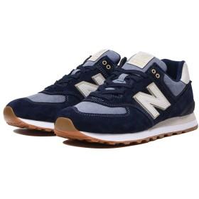 (NB公式)【ログイン購入で最大8%ポイント還元】 ユニセックス ML574 SNJ (ブルー) スニーカー シューズ 靴 ニューバランス newbalance