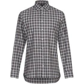 《セール開催中》LARDINI メンズ シャツ ブルー 40 コットン 100%