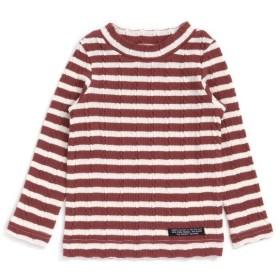 【34%OFF】 エフオーオンラインストア モックネックTシャツ レディース ブラウン 140 【F.O.Online Store】 【セール開催中】