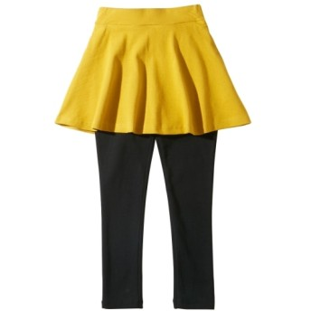 ポケット付フレアスカッツ(女の子 子供服。ジュニア服) (スカート付パンツ)