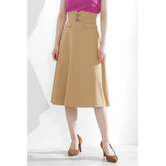 PROPORTION BODY DRESSING / プロポーションボディドレッシング  ツイルステッチフレアスカート