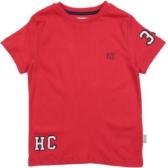 《セール開催中》HENRY COTTON'S ボーイズ 3-8 歳 T シャツ レッド 3 コットン 50% / ポリエステル 50%