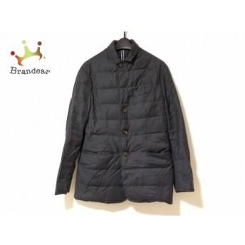 トミーヒルフィガー ダウンジャケット サイズS メンズ ダークグレー×黒 冬物/ジップアップ 新着 20190821
