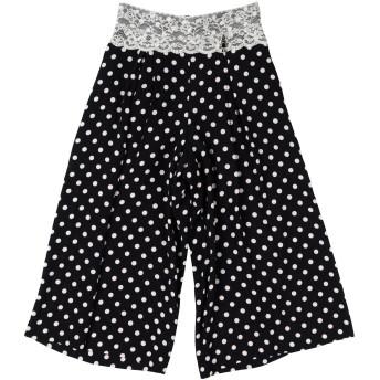 《セール開催中》ELISABETTA FRANCHI ガールズ 9-16 歳 パンツ ブラック 10 レーヨン 100%