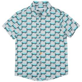 《セール開催中》DANIELE ALESSANDRINI ボーイズ 3-8 歳 シャツ ターコイズブルー 8 コットン 100%