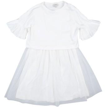 《セール開催中》ALETTA ガールズ 9-16 歳 ワンピース&ドレス ホワイト 11 レーヨン 92% / ポリウレタン 8% / ナイロン