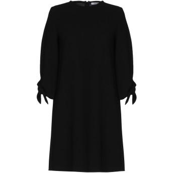 《セール開催中》I BLUES レディース ミニワンピース&ドレス ブラック 46 100% ポリエステル