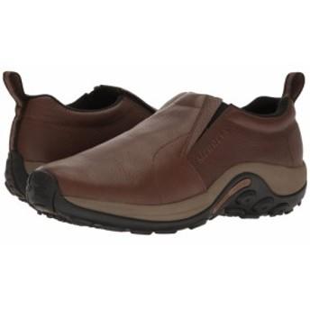 メレル Merrell メンズ スリッポン・フラット シューズ・靴 Jungle Moc Black Slate Leather