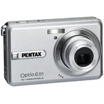 PENTAX デジタルカメラ Optio E85 シルバー 1210万画素 光学3倍 16連写 充 (中古品)