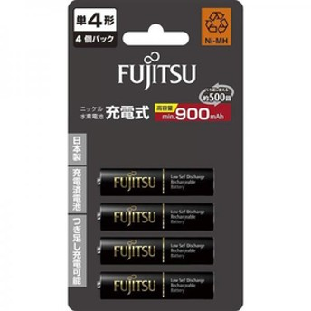 FDK単4形ニッケル水素電池 4本入り高容量タイプHR-4UTHC(4B)