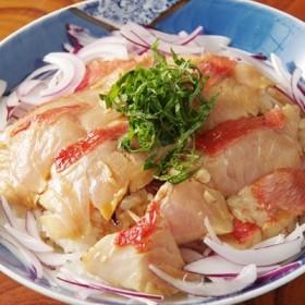 金目鯛のタタキ丼