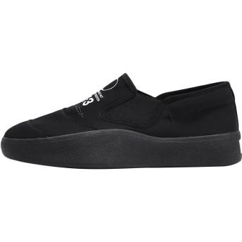 《セール開催中》Y-3 メンズ スニーカー&テニスシューズ(ローカット) ブラック 6 紡績繊維