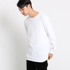 [マルイ] Champion コットン(綿)長袖Tシャツ/オペークドットクリップ(メンズ)(OPAQUE. CLIP Mens)