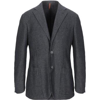 《期間限定 セール開催中》CORNELIANI ID メンズ テーラードジャケット ダークブルー 48 バージンウール 68% / ポリエステル 22% / ナイロン 10%