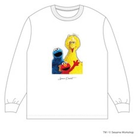 【&mall Limited Item Store:トップス】「Sonar Pocket × SESAME STREET」10th Anniversary ロングTシャツ