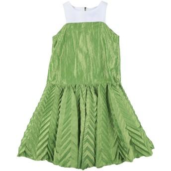 《セール開催中》MIMISOL ガールズ 9-16 歳 ワンピース&ドレス グリーン 10 ポリエステル 85% / シルク 15%