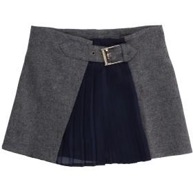 《セール開催中》TRUSSARDI JUNIOR ガールズ 3-8 歳 スカート グレー 4 ウール 59% / ポリエステル 30% / ナイロン 11%