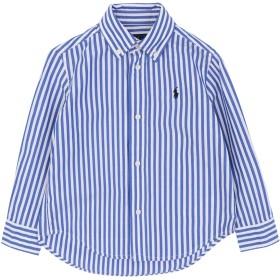 《9/20まで! 限定セール開催中》RALPH LAUREN ボーイズ 3-8 歳 シャツ ブルー 3 コットン 100%