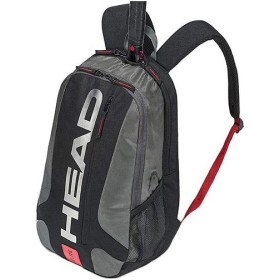 ヘッド(HEAD) テニス Elite Backpack エリート バックパック ブラック×レッド 283759 テニス用品 バッグ リュック