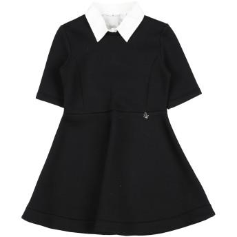 《セール開催中》L: L: by MISS GRANT ガールズ 9-16 歳 ワンピース&ドレス ブラック 10 レーヨン 84% / ポリウレタン 14% / ポリウレタン 2% / コットン