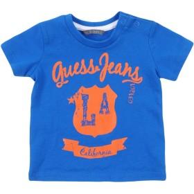 《セール開催中》GUESS ボーイズ 0-24 ヶ月 T シャツ ブルー 3 コットン 100%