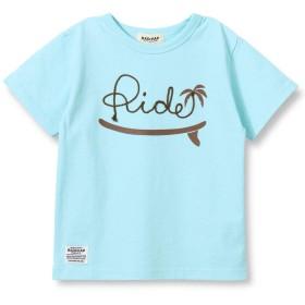 [ラッドチャップ] コード刺繍 半袖 Tシャツ 110cm サックス