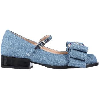 《セール開催中》TIPE E TACCHI レディース パンプス ブルー 39 紡績繊維