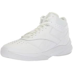 [リーボック] Men's Pro Heritage 3 Us-White/White Mid-Top Leather Basketball Shoe - 8M
