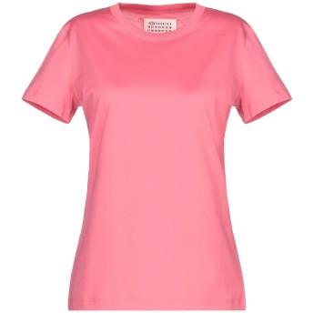 《セール開催中》MAISON MARGIELA レディース T シャツ フューシャ XS コットン 100%