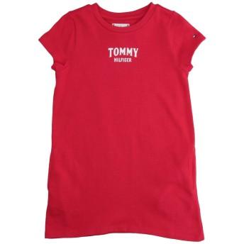 《期間限定 セール開催中》TOMMY HILFIGER ガールズ 9-16 歳 ワンピース&ドレス レッド 10 コットン 100%
