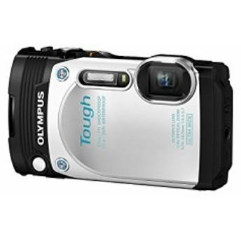 OLYMPUS コンパクトデジタルカメラ STYLUS TG-870 Tough ホワイト 防水性能(中古品)
