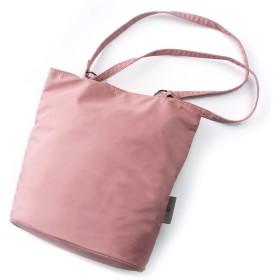 RoLekim トートバッグ レディース エコバッグ 買い物袋 バッグ 超軽量 大容量 肩掛け 通勤 通学 撥水 ピンク①