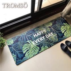 TROMSO-廚房防油皮革地墊/廚房地墊防滑墊_45x120cm K304外樂叢林