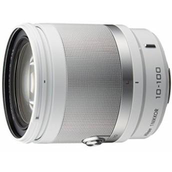 中古 Nikon 高倍率ズームレンズ 1 NIKKOR VR 10-100mm f/4-5.6 ホワイト ニコンCXフォーマット専用